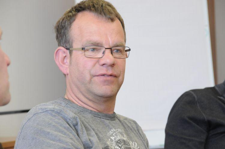 Gerard Schoenaker is grasexpert/projectleider bij De Groenmakers in Doetinchem