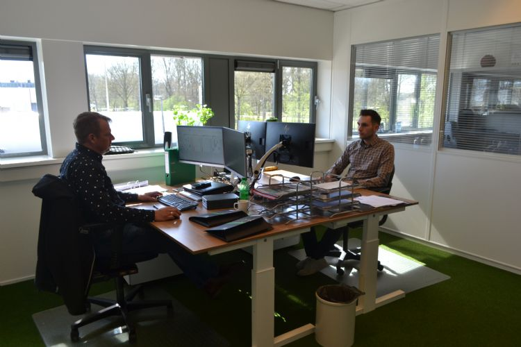 Wilbert Hogeweij en Bart Broekhuis