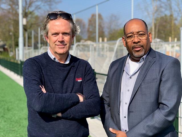 Peter Sluijs en Sherwin Heide