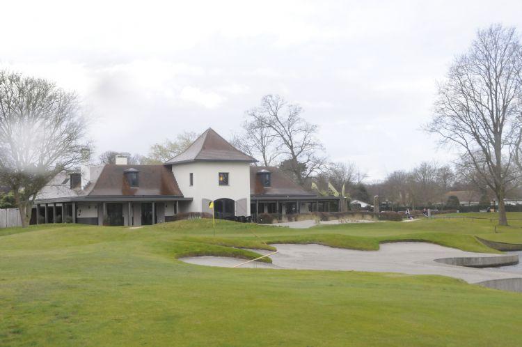 Het clubhuis van Groendael