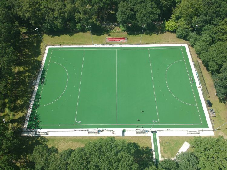Het veld bij Dragons is de eerste Ultimate Pro in België.
