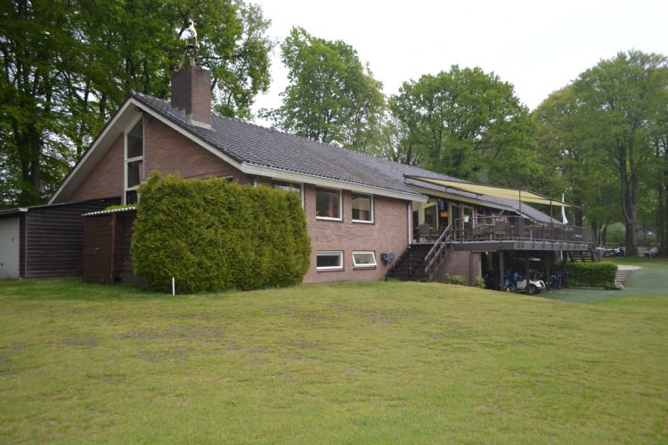 Het clubhuis van de Veluwse Golf Club