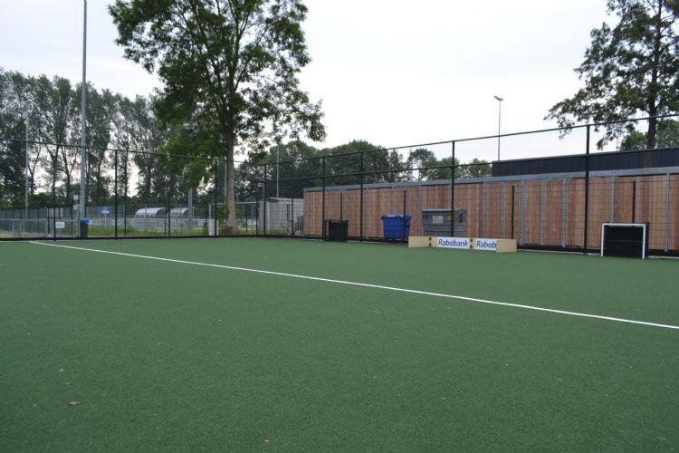 Het trainingsveld bij HC IJsseloever.