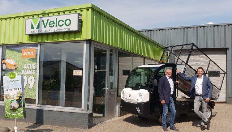 Ben Veldhuis (links) & Olaf van Grol rechts) van Velco BV.