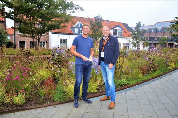 Victor Dijkshoorn met Niek Heijboer