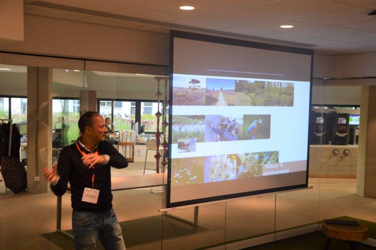 Presentatie over het Crescent Park in het Huis van de Stad Harderwijk