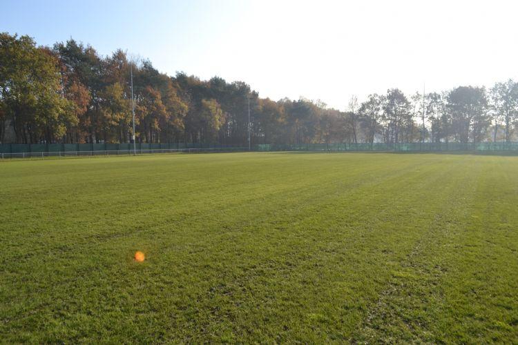 Het hybrideveld op Papendal, de trainingslocatie van Vitesse