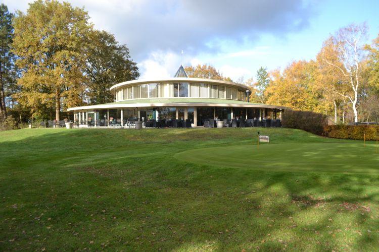 Het clubhuis van DGC De Gelpenberg