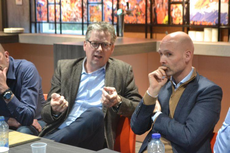 Gosewin Bos (Antea Sport) en Seth van der Wielen (Kybys)
