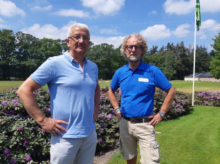 Mark Timmerman (Prograss) en Ad van Bruggen (Biocontrole)
