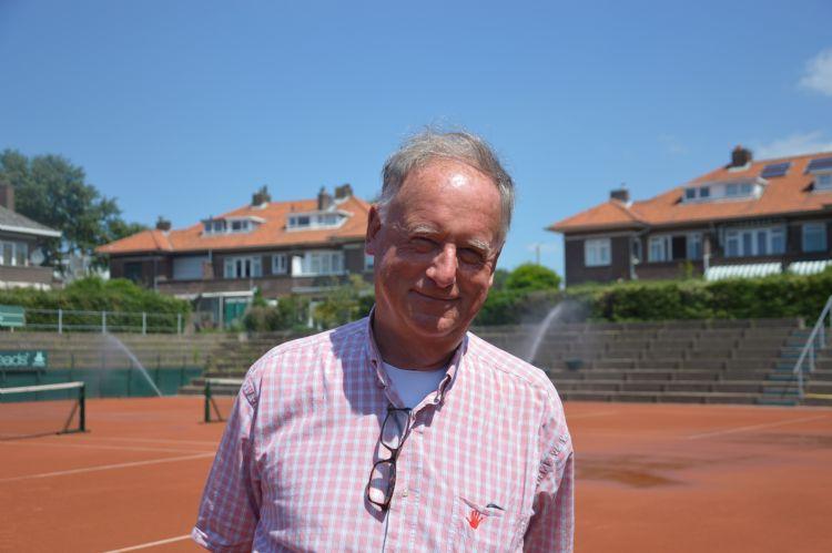 Ivo Pols is erg trots op 'zijn' nieuwe centercourt.