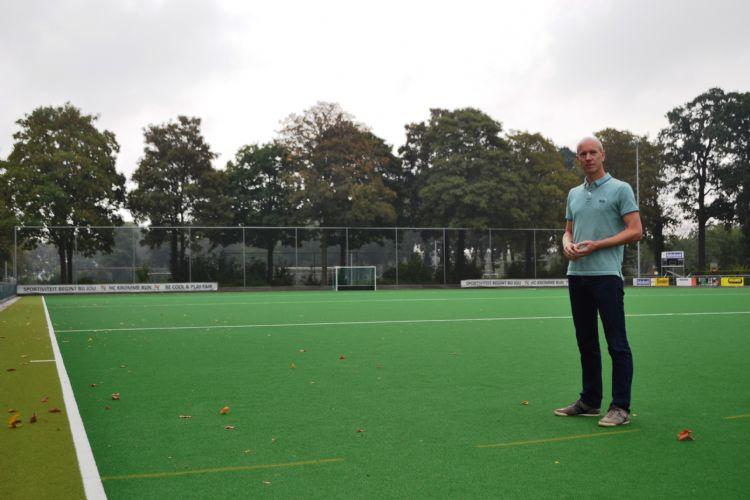 Ronald Michels, bestuurslid accommodatie bij hockeyclub Kromme Rijn