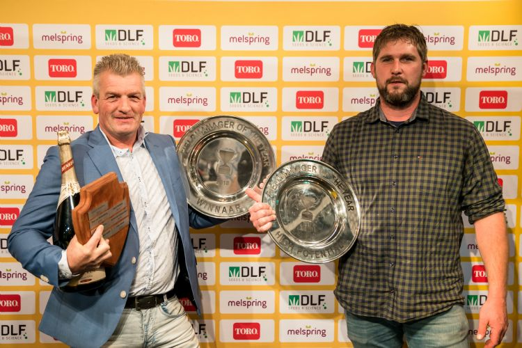 Marc Grooteman (Fieldmanager of the Year 2018) en Jan Gijzen (High Potential 2018)