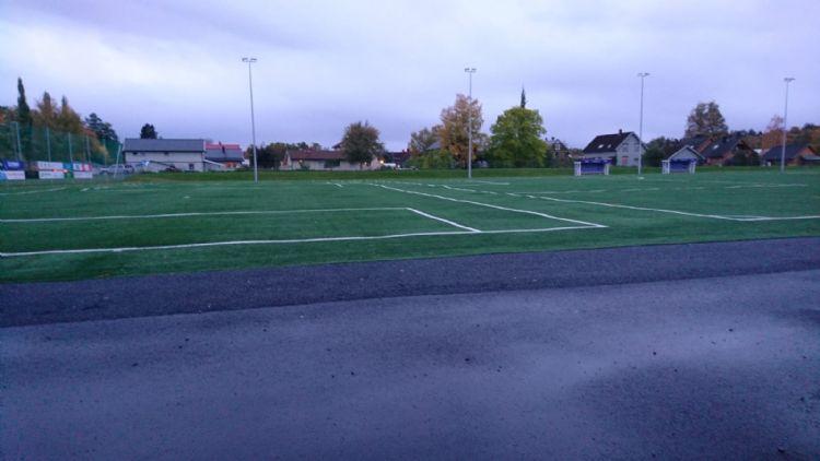 Het veld in het Noorse Levanger