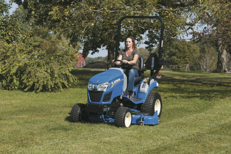De New Holland Boomer 25 Compact.