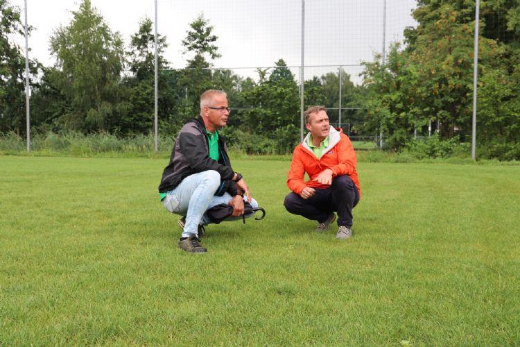 Hans Vervaart en Leo Beeren
