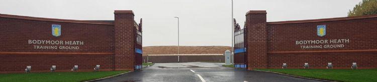 Bodymoor Heath, de trainingsaccommodatie van Aston Villa. © AAA-Lux