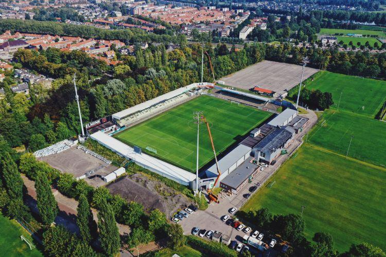 Overzichtsfoto van het Riwal Stadion