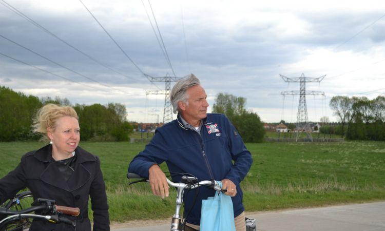 Tanja Martens (l) en Paul de Wit