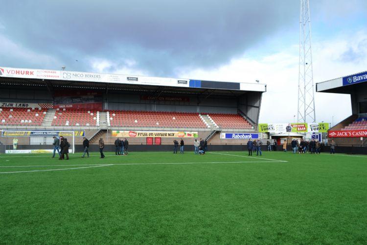 De innovatiedag vond plaats in het stadion van profclub Helmond Sport.