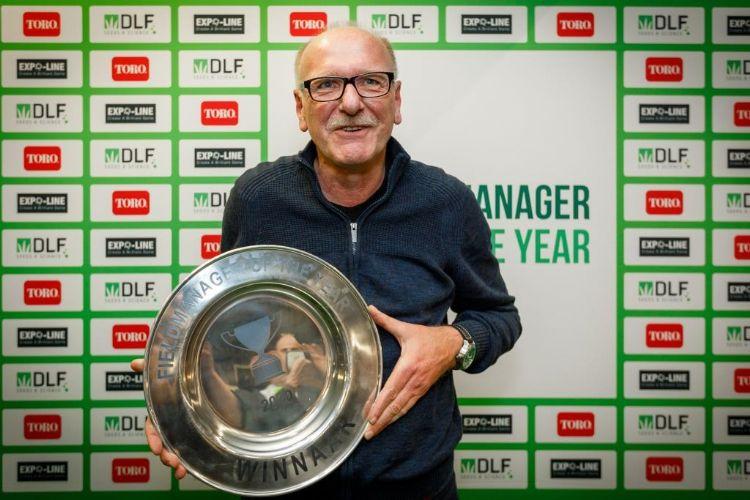 Jaap Verhagen is de nieuwe Fieldmanager of the Year. Foto: Vakbeurs Sportaccommodaties