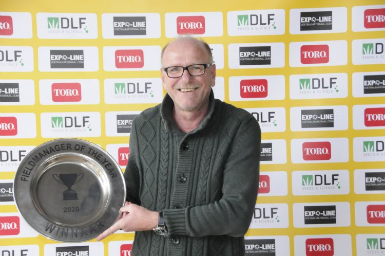 Jaap Verhagen is verkozen tot Fieldmanager of the Year 2020.
