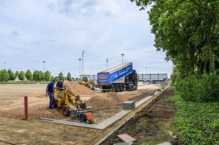 Aanleg van het Waber-systeem in Helmond