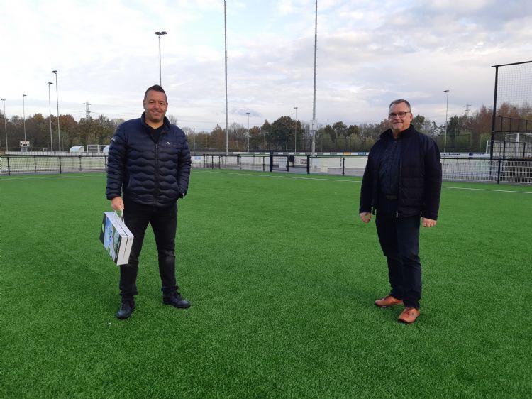 Rutger Schuijffel (CSC) en Peter Hendriks (gemeente Nijmegen)