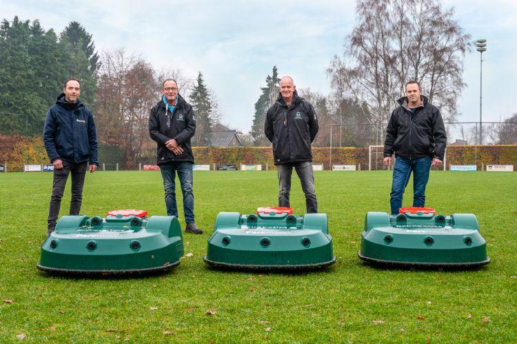 Geert de Haan, Anton Molema, Ronald Westers en Jacob-Jan Everts. Foto: Sylvia Germes Fotografie