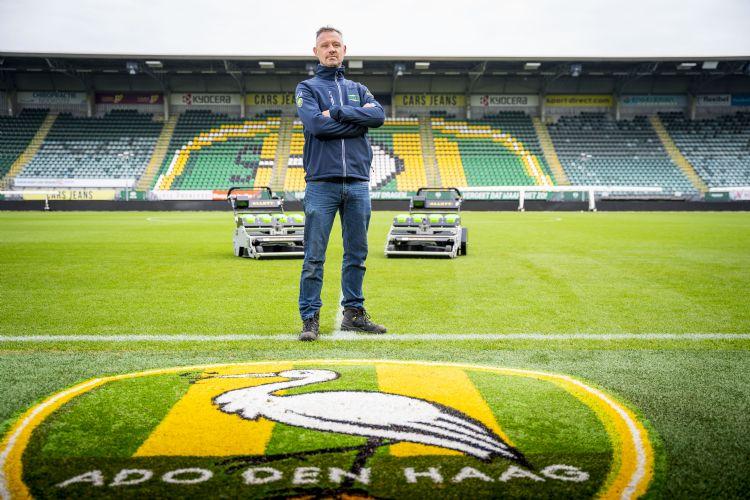 Bo Videler, fieldmanager bij Ado Den Haag. Foto: Cees van der Wal