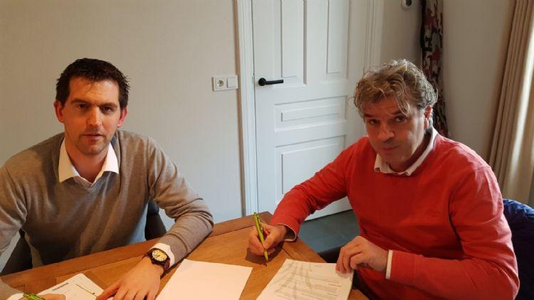 Teun Wouters (l) en Silvio van Doorn