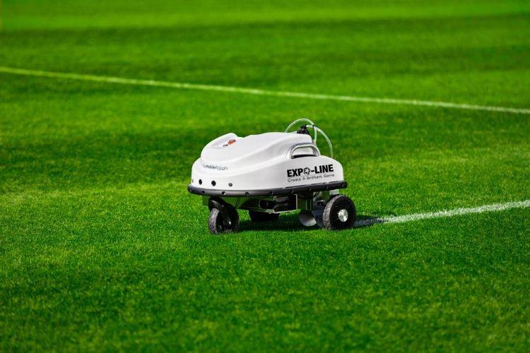 Expo-Line werkte mee aan de ontwikkeling van de Sport-robot.