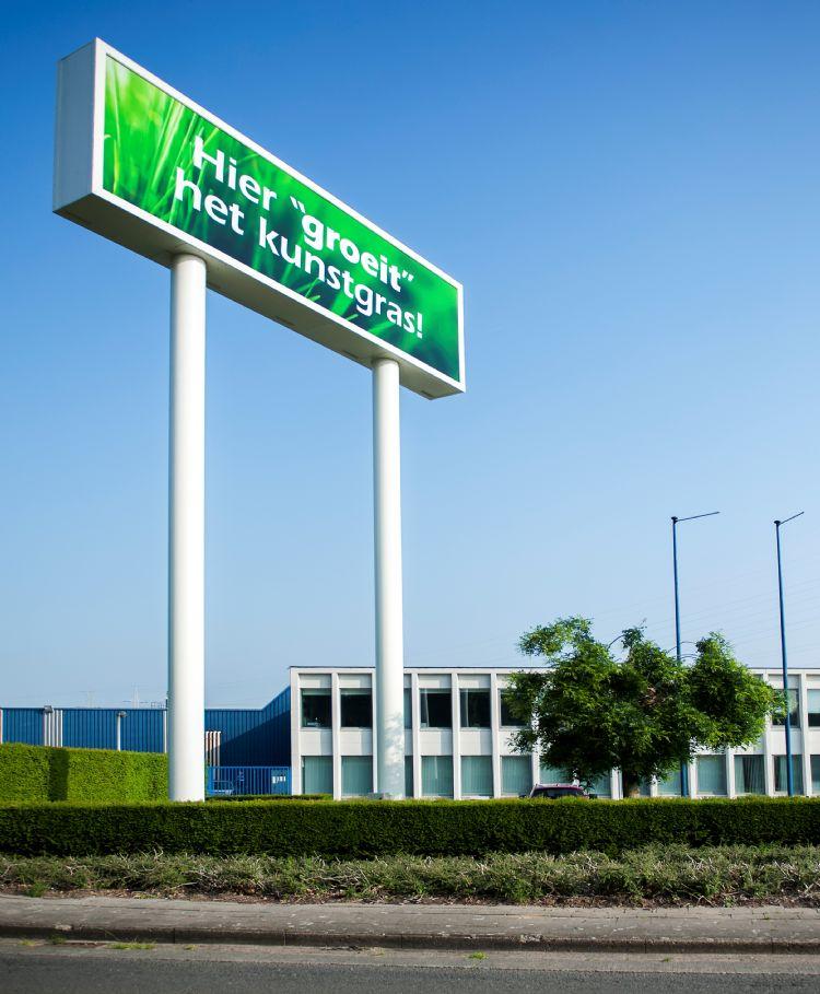 De locatie van Sports & Leisure Group in Sint-Niklaas.