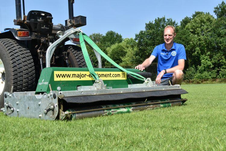 Geert Olthuis: 'In de golfwereld had ik al ervaring opgedaan met cirkelmaaiers.'