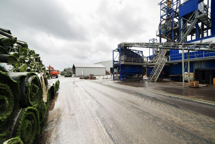 De recyclingfabriek van GBN-AGR in Amsterdam